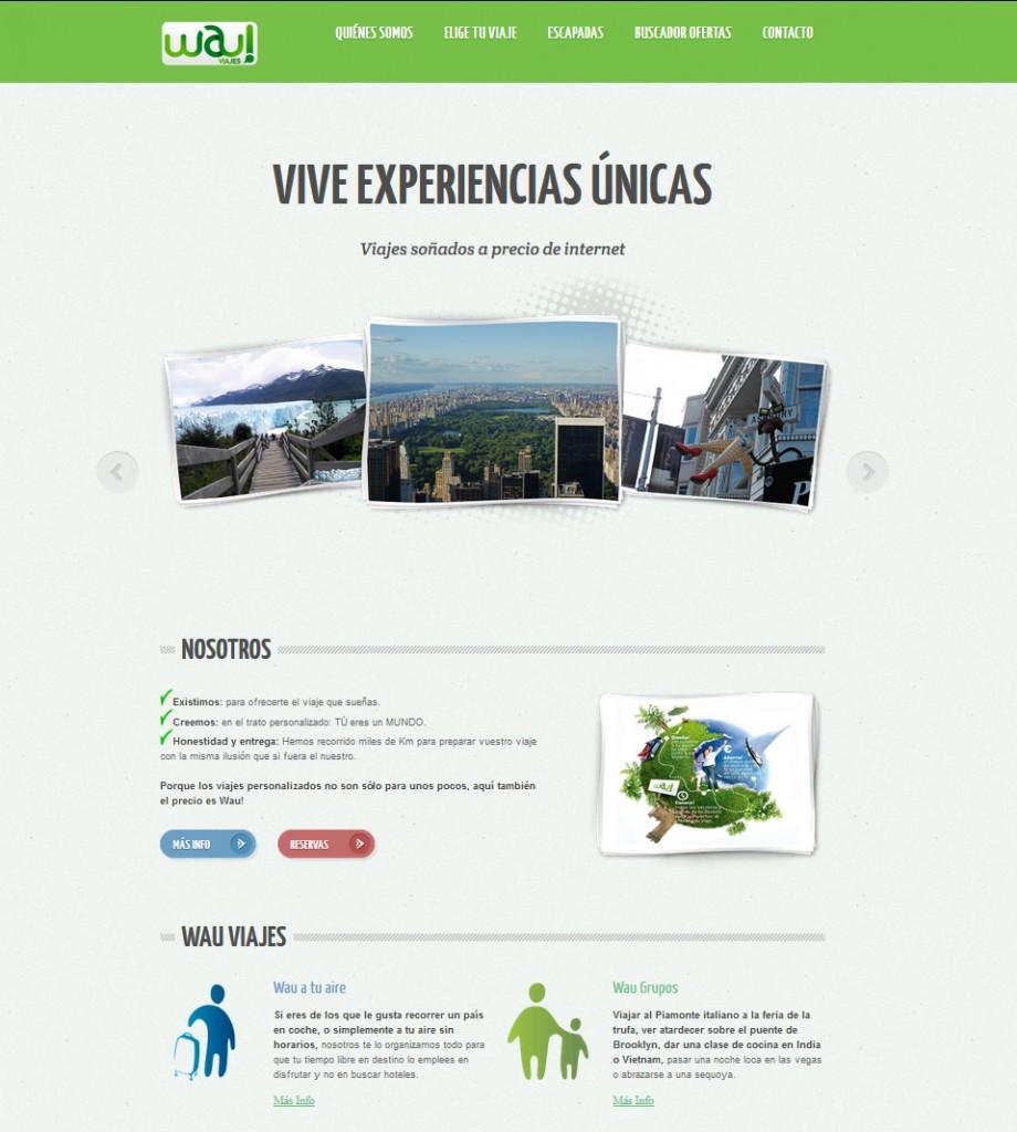Web Agencia de Viajes