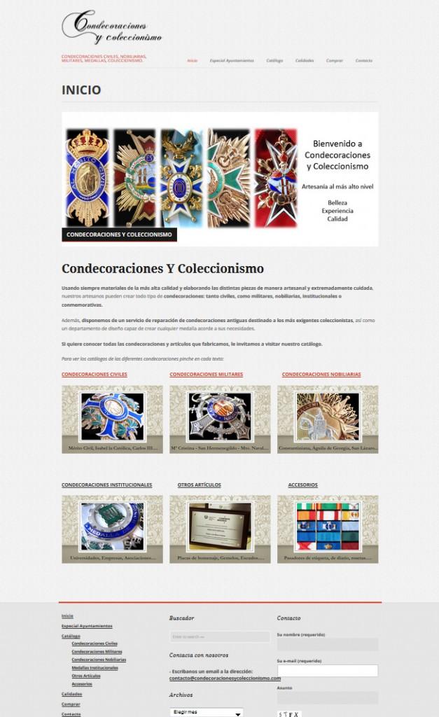 Web Condecoraciones