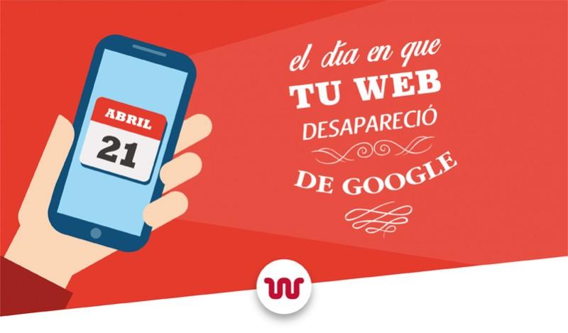 google penalizara las webs no adaptadas al movil