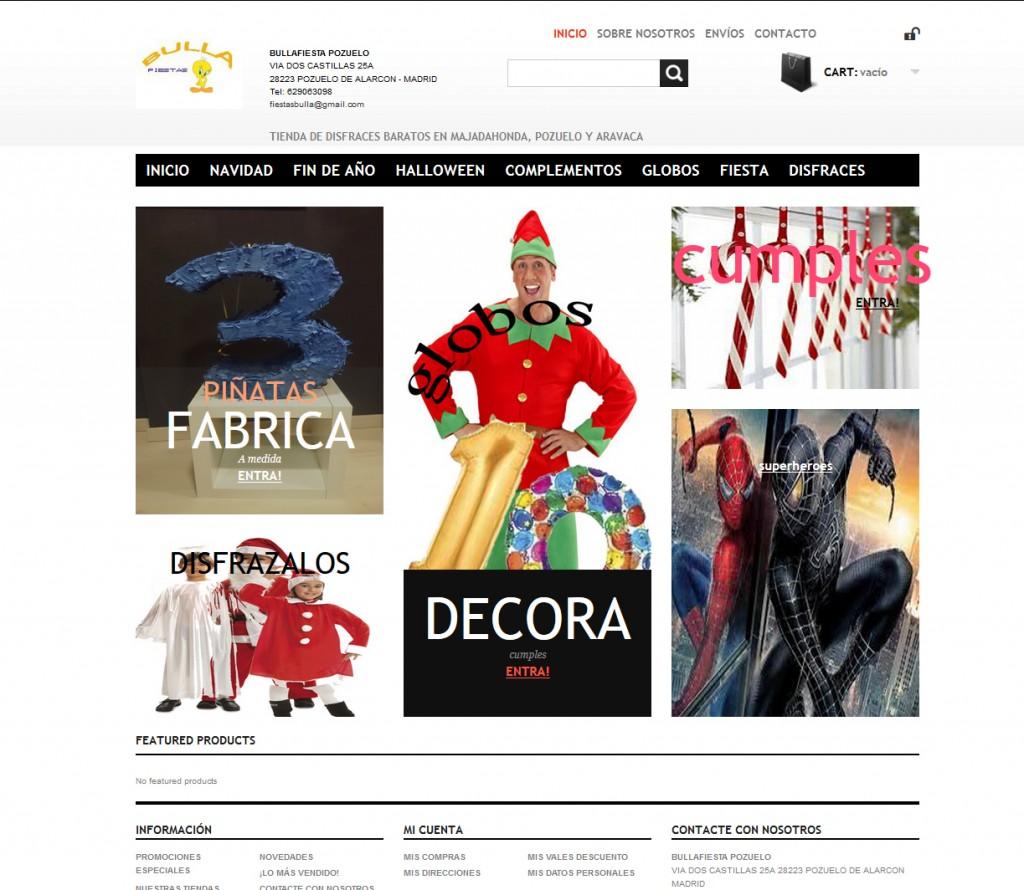 Tienda Online Disfraces