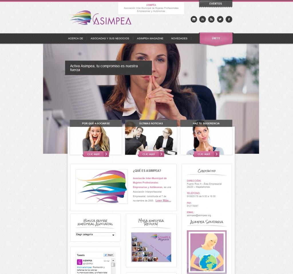 Web Asociación Mujeres