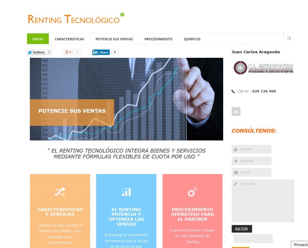 Web Renting Tecnológico