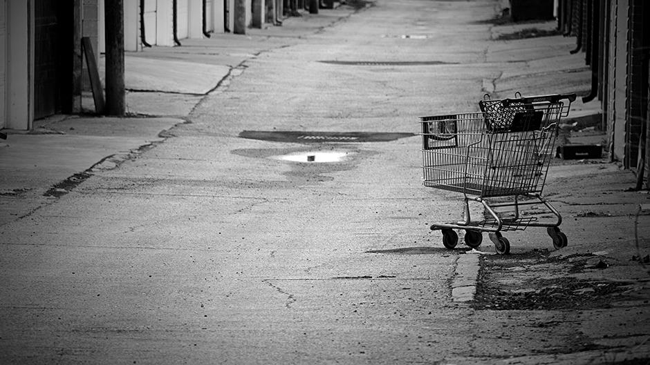 carrito abandonado