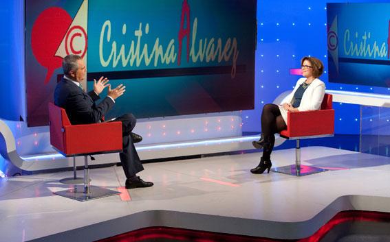 JUANMA ROMERO ENTREVISTA A CRISTINA ÁLVAREZ EN TVE
