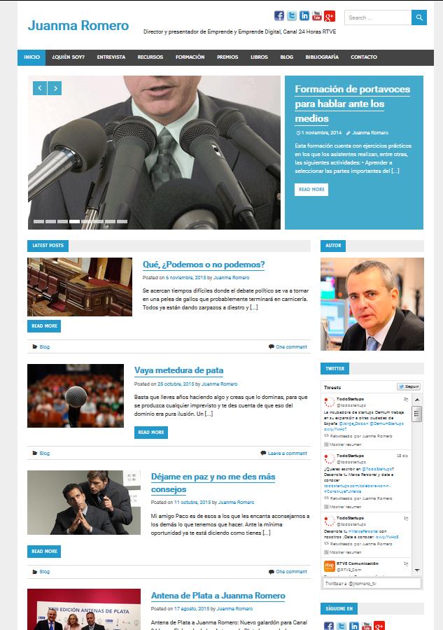 Web Juanma Romero