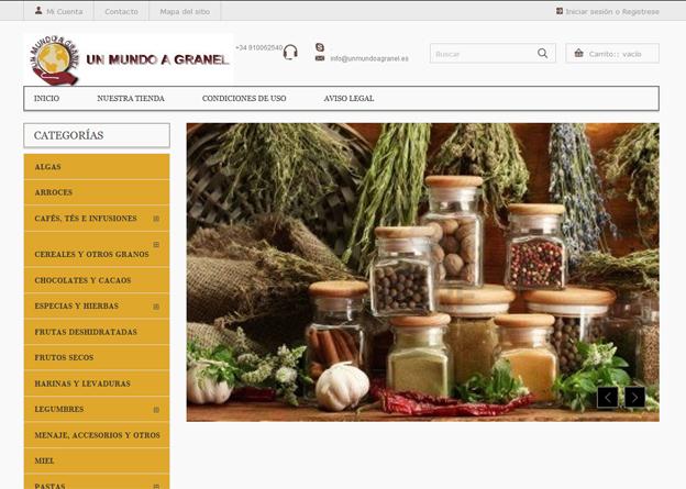 Tienda Online A Granel