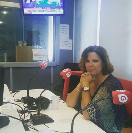 Cristina Álvarez en Gestiona Radio