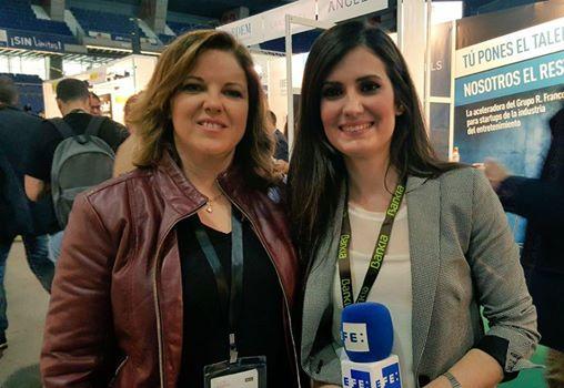 Salón Mi Empresa con Cristina Álvarez Pagán en el programa Emprende TVE