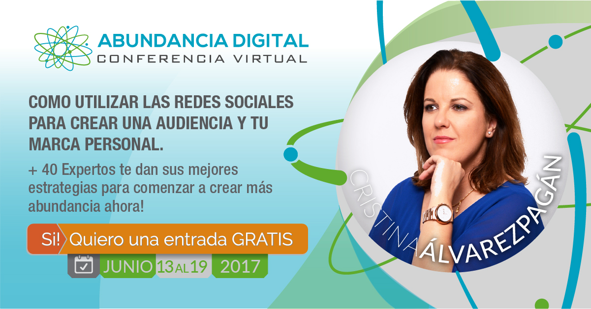 La Conferencia Virtual ABUNDANCIA DIGITAL ya ha comenzado