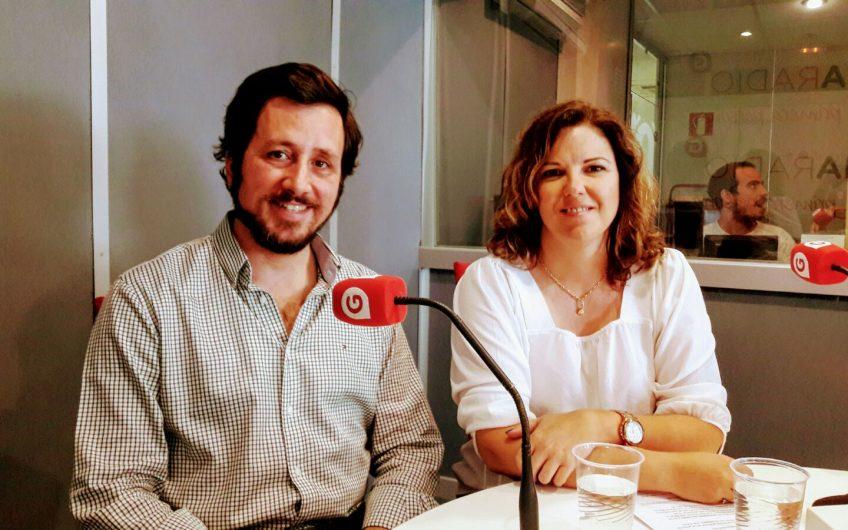 Tristán Elosegui y Cristina Alvarez