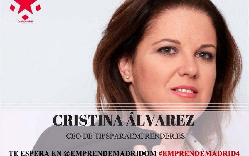 Cristina Alvarez en Onda Madrid