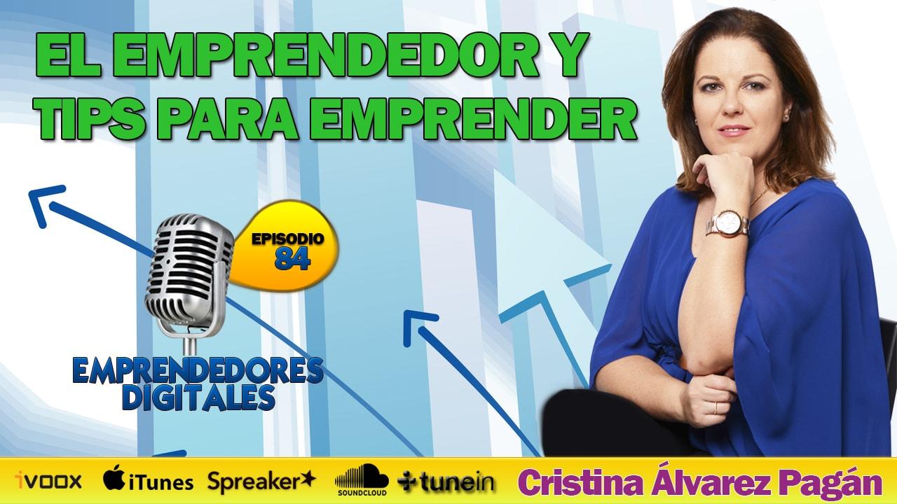 Entrevistada por José Miguel García, Emprendedores Digitales