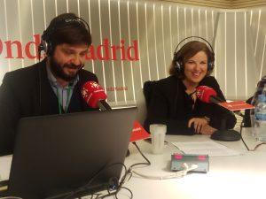 Cristina Álvarez Pagán en radio