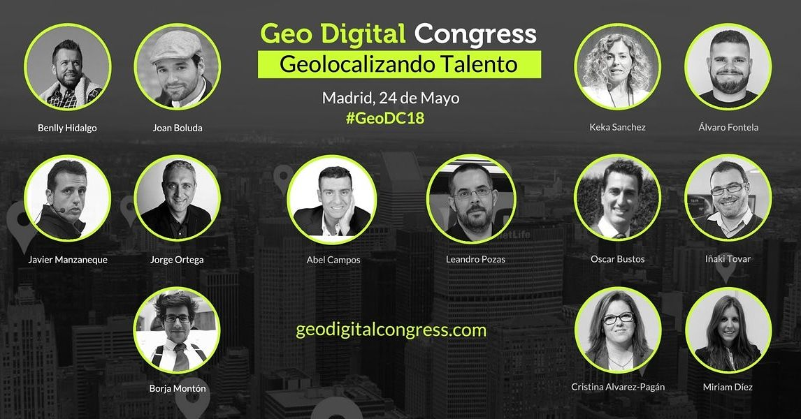 Geo Digital Congress 24 de mayo, te invito.