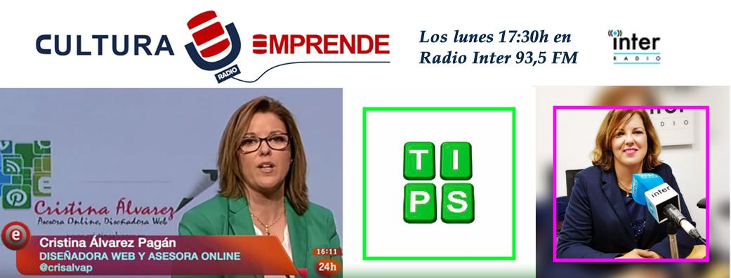 Cristina Alvarez, radio